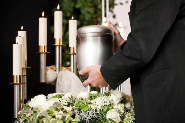 Memorial service for cremation