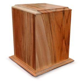 Chestnut wood urn