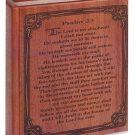 Wood Bible Urn