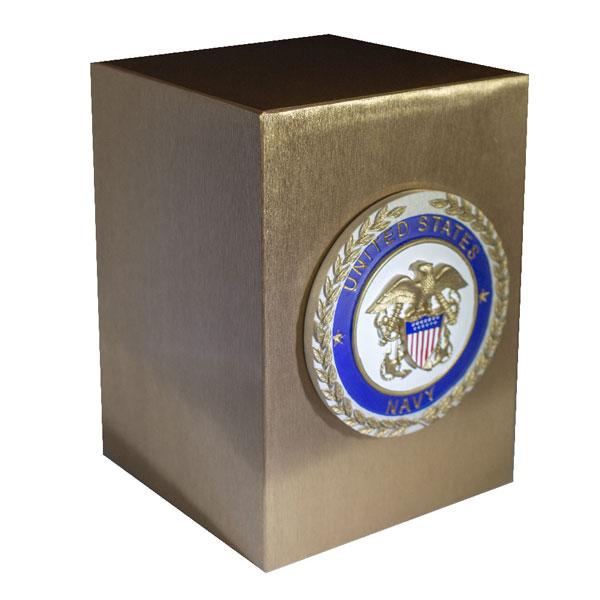 Cast Bronze Veterans Urn