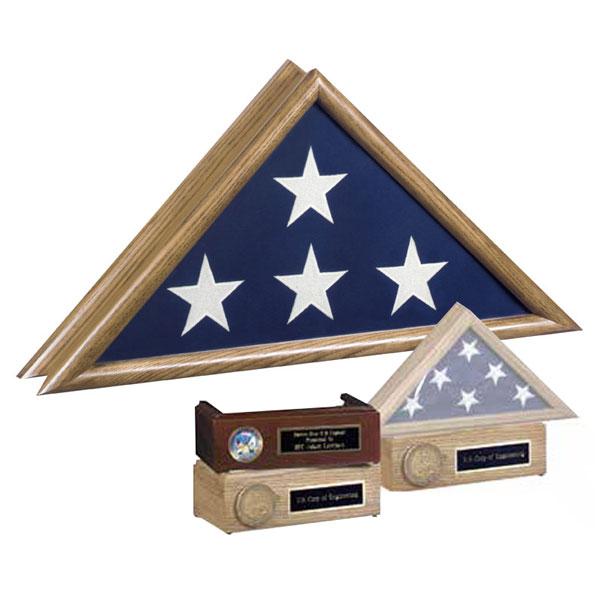 Patriot Oak Flag Case