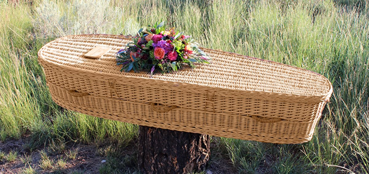 Eco-friendly casket from Passages International