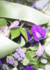 Flower arrangement for funeral