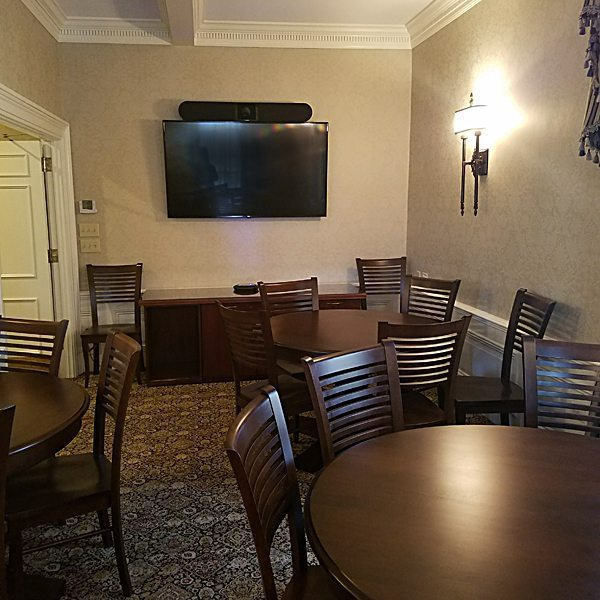 Phaneuf Funeral Home function room