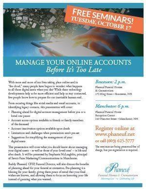 October Seminar Flyer