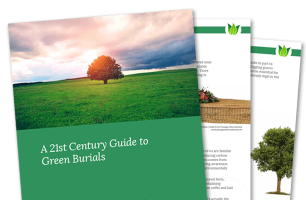 The Cover of The Guide to Green Burials