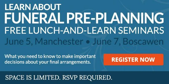 June Lunch and Learn Pre-planning seminars