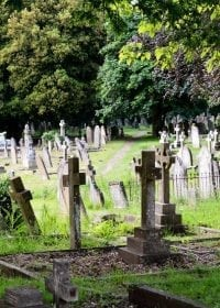 Old cemetery ready for succession