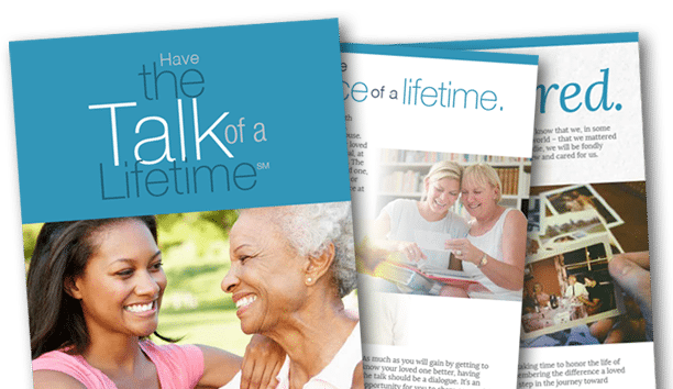 Talk of a Lifetime Free e-Book