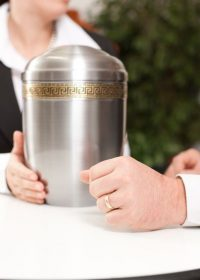 Cremation provider advising
