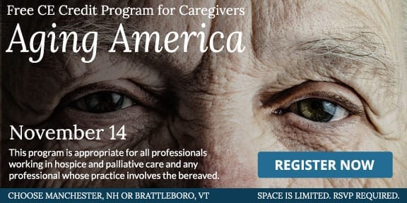 Aging America, a free CE Credit Program for caregivers