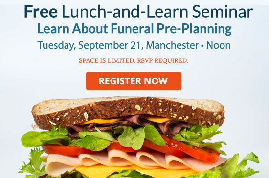 2021 Lunch and Learn Pre-planning seminar